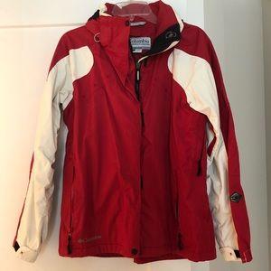 Columbia Rain Jacket, Medium